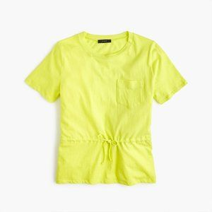 J. Crew Women's Tie-Waist Pocket T-Shirt